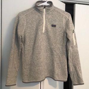 Women's 1/4 zip better sweater
